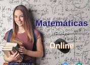 Clases de matemÁtica y fÍsica en línea