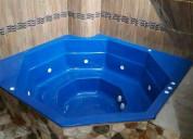 Tinas-hidromasajes-jacuzzis  fabricamos e instalamos el color que ud. desee