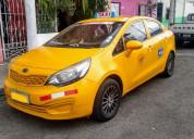 Vendo taxi kia rio r