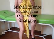 Ecuatorianas y extranjeras para tus masajes comple