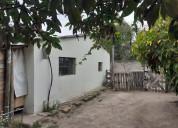 Se vende terreno con pequeña casa sector la morita
