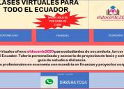Clase virtual para todo el ecuador contabilidad