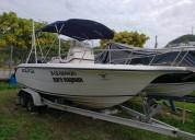 Vendo bote 2002 sea fox motor mercury