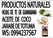En venta productos naturales
