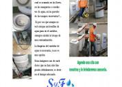 Limpieza de surtidores de agua