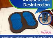 Moquetas de desinfección de calzado