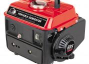 Alquiler de toda clase de generadores y motobombas
