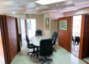 Oficina en venta urdesa central c.c. plaza triángu
