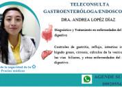Tele consulta de gastroenterologÍa
