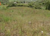 Se vende terreno de 13.000 m2 en chaltura