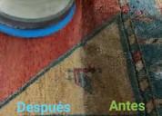 Limpieza de muebles sillas colchones alfombras