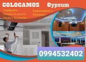Gypsum cuenca: instalacion