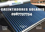 Sistemas de calentamiento de agua solar-rio solar