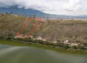 Vendo terreno de 6 hectareas en ibarra yahuarcocha
