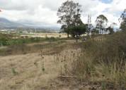 Se vende terreno de 3500 m2 en chaltura atuntaqui