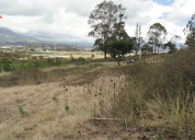 Venta de terreno en chaltura atuntaqui, 2761 m2