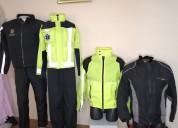 Chompas para motociclistas, protecciones, chaqueta
