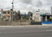 Vendo terreno en la panamericana de natabuela