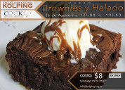 Curso brownies y helado