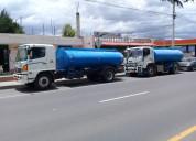 Tanqueros de agua potables