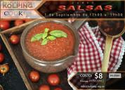 Curso de salsas $8