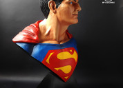 Escultura superman christopher reeve fan art