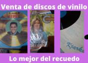 Venta de discos de vinil