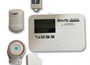 Sistema de alarma inalambrica para casa o negocio