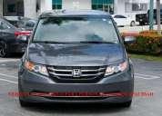 Honda odissey 2017 20000 kms