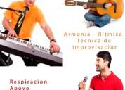Clases de canto - guitarra - piano