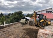 Mejoramiento de suelos, desbnques, derrocamientos.