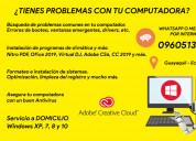 Adobe cc y cs6 / antivirus y formateos