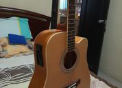 Vendo guitarra electroacustica marca lenon nueva