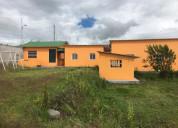 Vendo casa (paradero) en cotacachi con 1 hectarea