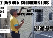 0993607041 puertas rejas soldaduras metalicas luis