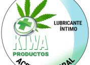 Lubricante íntimo kiwa canabidol y clavo de olor