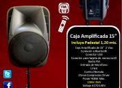 Caja amplificada  eb audio 15 pulgadas mod 070a