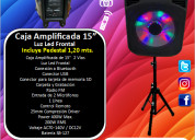 Caja amplificada eb audio  15 pulgadas mod. 070tbl