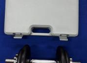 Kit - pesas metÁlicas ajustables de 10kg