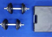 Kit - pesas metÁlicas ajustables de 20kg
