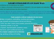 Soy teacher, doy clases de inglés