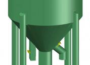 Mezclador vertical. solo planos para manufactura.