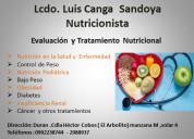 Nutricionista  luis canga 0992238744