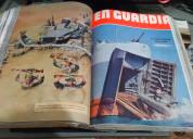 Colección de revistas en guardia
