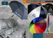 Paraguas y parasoles, con logo, con logo