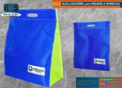 Bolsos con logo, para almacenes y tiendas.