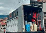 Camion de mudanzas y fletes cuenca embalaje