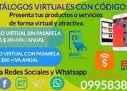 Catalogos virtuales con qr