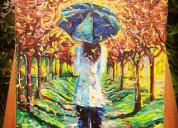 Vendo pintura paisajismo