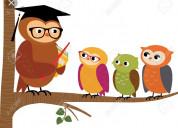 Busco empleo como docente en ciencias sociales